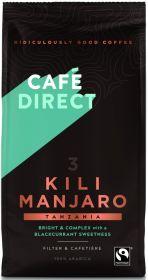 Cafédirect Fair Trade Kilimanjaro Tanzania Roast Ground Coffee 227g x6