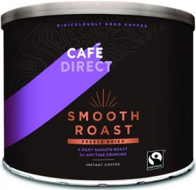 Cafédirect Fair Trade Smooth Roast Freeze Dried Instant Coffee (Catering) 500g x6