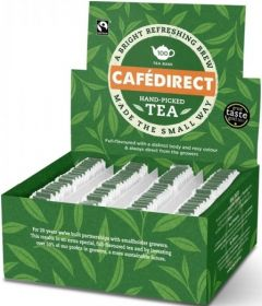 Cafédirect Fair Trade Hand-Picked Tagged Tea Bags 2g (100's) x5