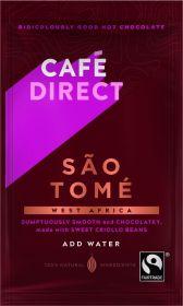 Cafédirect Fair Trade São Tomé Instant Hot Chocolate Sachet 23g x50