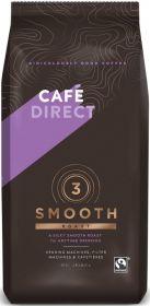 Cafédirect Fair Trade Smooth Roast Ground Coffee 750g x 8