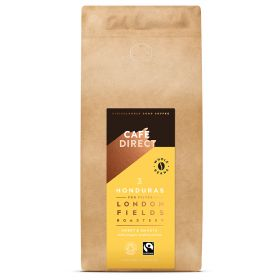 Cafedirect FT Organic LF Honduras Whole Beans 6x1kg