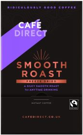 Cafédirect Fair Trade Smooth Roast Freeze Dried Instant Coffee Sticks 1.8g (250's) x4