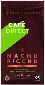 Cafédirect Fair Trade & Organic Machu Picchu Peru Coffee Beans 227g x6