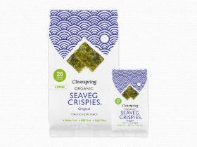Clearspring Organic Seaveg Crispies - Original 5g x 16