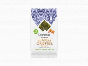 Clearspring Organic Seaveg Crispies - Turmeric 4g x 16