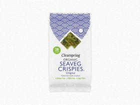 Clearspring Organic Seaveg Crispies Multipack - Original   (3x5g) x 8