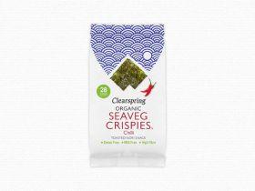 Clearspring Organic Seaveg Crispies Multipack - Chilli  (3x5g) x 8