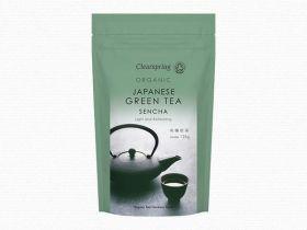 Clearspring Organic Japanese Sencha, Green Tea - loose 125g x 6