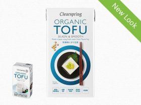 Clearspring Organic Japanese Tofu - Soya Bean Curd 300g x 12