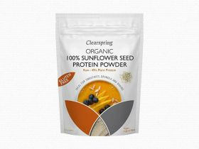Clearspring Organic Raw 100% European Sunflower Seed Protein Powder 8 x350g