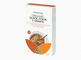 Clearspring Quick Cook Organic 5 Grains 250g x 8
