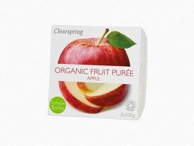 Clearspring Organic Fruit Puree - Apple 12 x (2x100g)