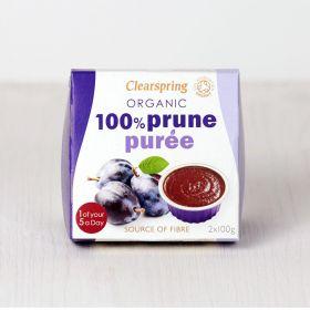 Clearspring Organic 100% Prune Puree 12 x(2x100g)