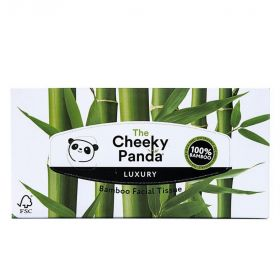Cheeky Panda Facial Tissue Bamboo 3ply (100% FSC) 80 sheets x12