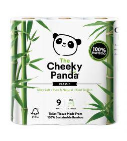 Cheeky Panda Toilet Tissue Bamboo 3ply (100% FSC) 9 rolls x5
