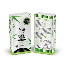 Cheeky Panda Pocket Tissue Bamboo 3ply (100% FSC) 80 sheets x12