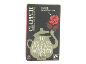 Clipper ORG & FT Breakfast Bags 125g - 40's x6