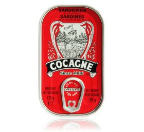 Cocagne - Sardines in olive oil - 125gr