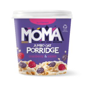Moma Cranberry and Raisin Instant Porridge Pot 70g x 12