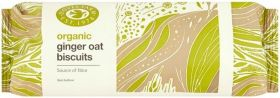 Doves Organic Ginger Oat Biscuits 200g x12
