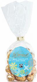 Divine Mini Milk Eggs 200g Single Bags - Dated Oct 08
