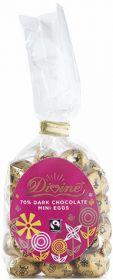Divine Fair Trade Dark Chocolate Mini Eggs 152g x1