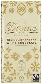 Divine Fair Trade White Chocolate 90g x15