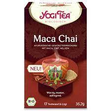 Yogi Tea Maca Chai Organic 17 bags  x6