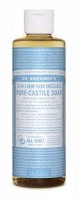 Dr Bronner Baby-Unscented Pure-Castile Liquid Soap 237ml x6