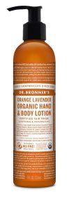 Dr Bronner Orange Lavender Org Hand/Body Lotion 236ml x6