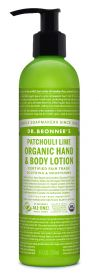 Dr Bronner Patchouli Lime Org Hand/Body Lotion 236ml x6