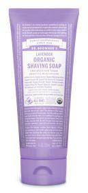Dr Bronner Lavender Organic Shaving Soap 207ml x6