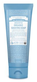 Dr Bronner Unscented Organic Shaving Soap 207ml x6