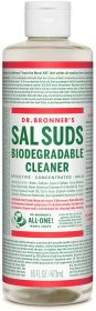 Dr Bronner Sal Suds Biodegradable Cleaner 473ml x6