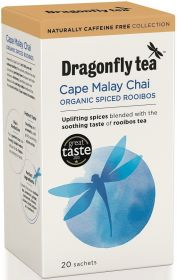 Dragonfly Organic Cape Malay Chai Rooibos 100g (40s)x4