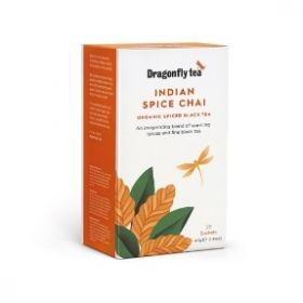 Dragonfly Organic Tradtional Indian Chai 40g (20s) x4