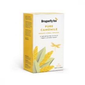 Dragonfly Organic Pure Camomile Infusion Tea 25g (20's) x4