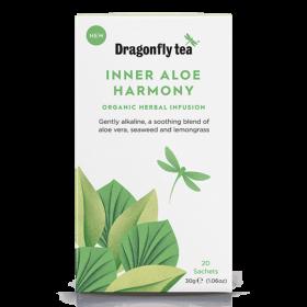 Dragonfly Inner Aloe Harmony Organic Herbal Tea 20s 30gx4