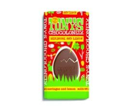 Tony's Chocolonely Easter Bar Milk 32% Lemon Meringue 180g x15