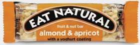Eat Natural Almond and Apricot with Yoghurt Coating 50g x12
