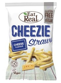 Eat Real Cheese Cheezie Straws 113g x10
