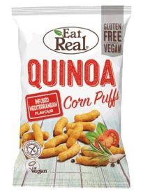 Eat Real Mediterranean Quinoa Puffs 113g x12