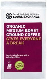 Equal Exchange Organic Medium Roast & Ground Coffee 227g x8