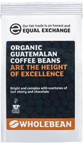 Equal Exchange Organic Guatemalan Coffee Beans 227g x8