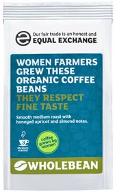 Equal Exchange Organic Women Farmer's Coffee Beans 227g x8
