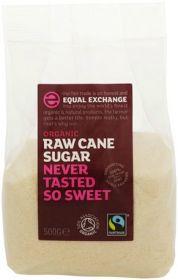 Equal Exchange Fair Trade & Organic Raw Cane Sugar 500g x10