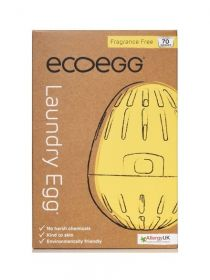 Ecoegg Fragrance Free Laundry Egg (70 Washes) x1
