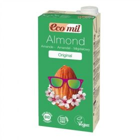 Ecomil Almond Milk Agave 1L x6