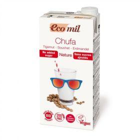 Ecomil Chufa Tiger Nut Milk Sugar Free 1L x6